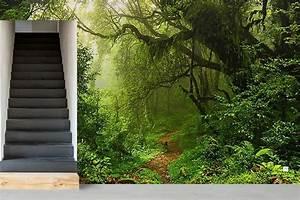 Papier Peint Trompe Oeil Castorama : papier peint trompe l 39 oeil for t tropicale izoa ~ Preciouscoupons.com Idées de Décoration