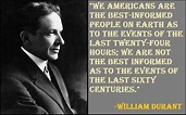 Motivational William Durant Quotes And Sayings ...