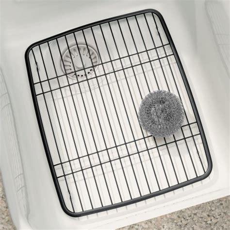 kitchen sink protector grid interdesign axis kitchen sink protector grid pearl black 5911