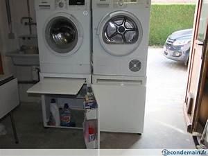 Mettre Seche Linge Sur Machine À Laver : wash 39 up le rehausseur pour machine laver et s che linge a vendre ~ Dode.kayakingforconservation.com Idées de Décoration
