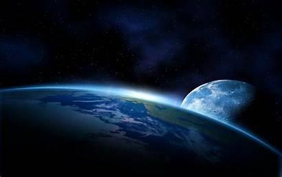 Space Earth Wallpapers Backgrounds Planet Moon Pixelstalk