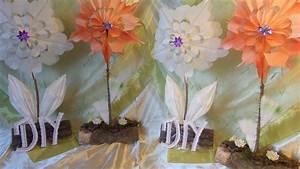 Blumen Aus Papier : diy 2 deko blumen aus papier fr hst ckst ten basteln f rben upcycling youtube ~ Udekor.club Haus und Dekorationen
