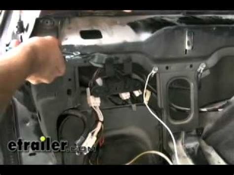 trailer wiring harness installation  jeep cherokee