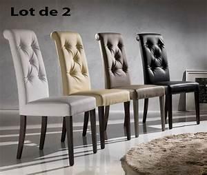 Chaise pu capitonne luxa zd1 c d ec 160jpg for Meuble salle À manger avec chaise de salon en cuir