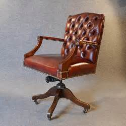 antique leather chairs antique leather desk office swivel chair antiques atlas 1288
