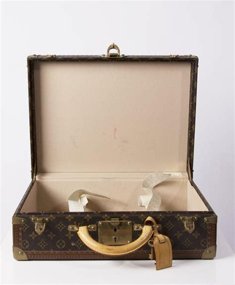 louis vuitton monogram bisten suitcase trunk  stdibs