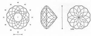Faceting Design Diagram  12 Glitter