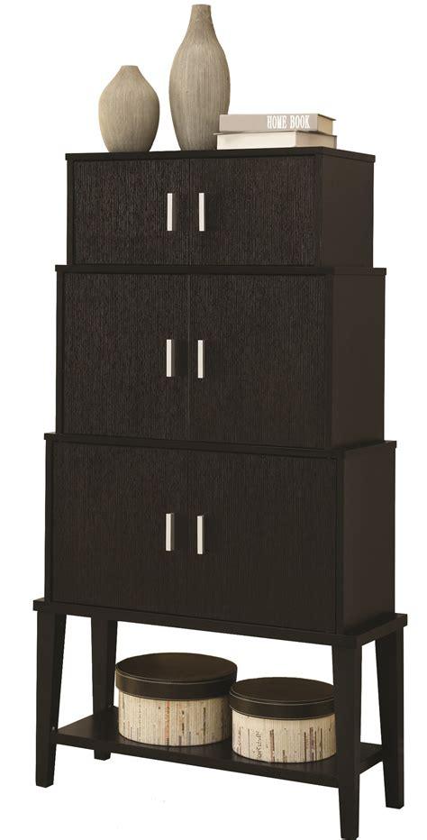 storage cabinets kitchen 2547 cappuccino stacking style storage cabinet from 2547