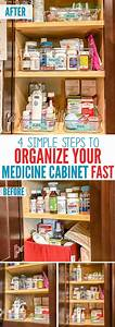 4 Simple Steps To Organize Your Medicine Cabinet  With