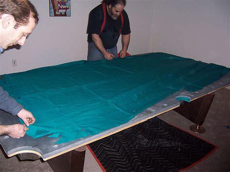 how to felt a pool table pool table felt installation services dk billiards service