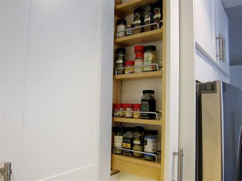 ikea spice racks custom diy spice rack in your ikea kitchen the la