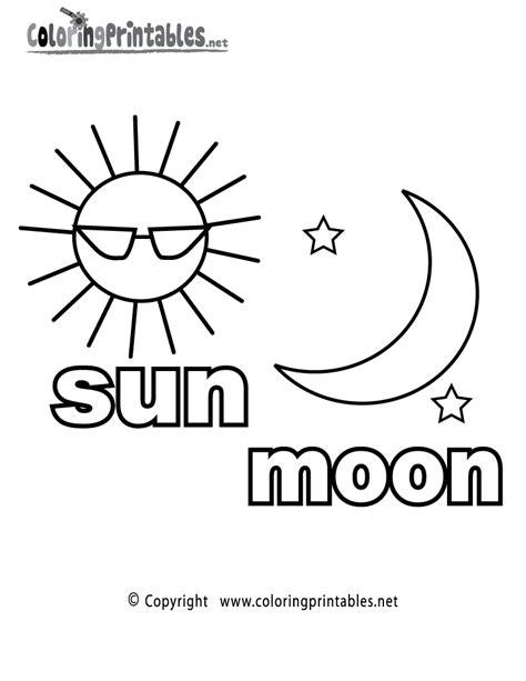 Moon Worksheets For Kindergarten