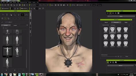 artist crystal bretz  character creator   model