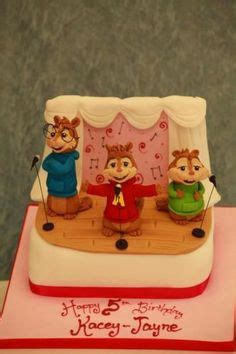 Alvin And The Chipmunks Cake Toppers Uk by 1000 Images About Alvin The Chipmunks Cakes On