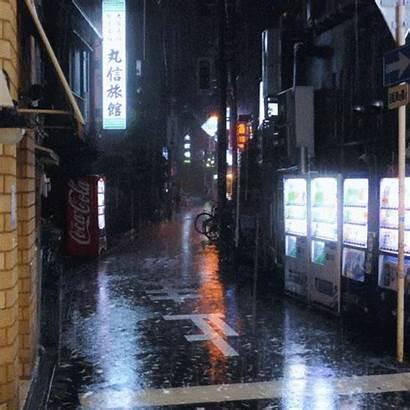 Rainy Tokyo Night Thread Avocado