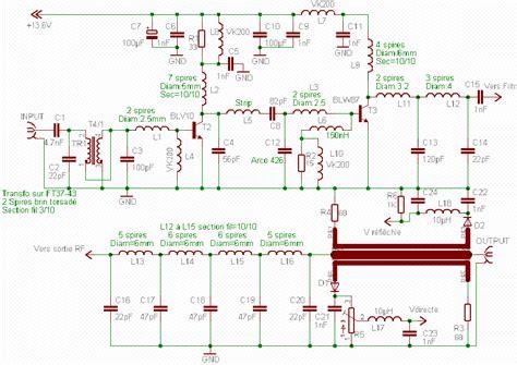 rf fm amplifier circuit