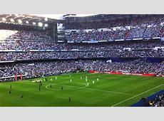 Real Madrid Barcelona Himno Hala Madrid y nada más