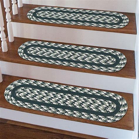 stair tread rugs braided stair rugs rugs ideas