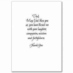 A Special Blessing on Father's Day: Father's Day Card