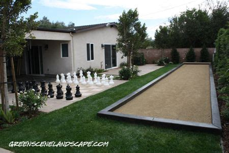 backyard bocce court dimensions backyard bocce and chess green stuff for me to kill