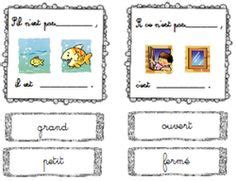 fle contraires images teaching french french