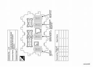 Nissan Rogue Service Manual  Wiring Diagram - Defogger