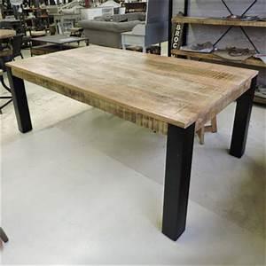 Pied De Table Industriel : salle manger style industriel ~ Dailycaller-alerts.com Idées de Décoration