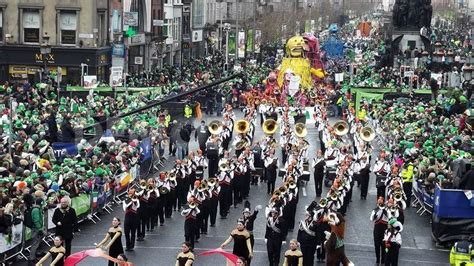 St. Patrick's Day Parade In New York 2017. March 17. Part