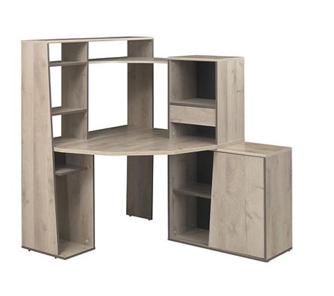 but bureau angle bureau d 39 angle et surmeuble mambo chêne bureaux but