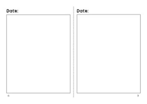 diary writing template ks1 diary writing frames and printable page borders ks1 ks2 sparklebox