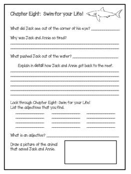 dolphins  daybreak  magic tree house study  pages