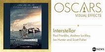 2015 ACADEMY AWARDS ~ Oscar for Visual Effects ...