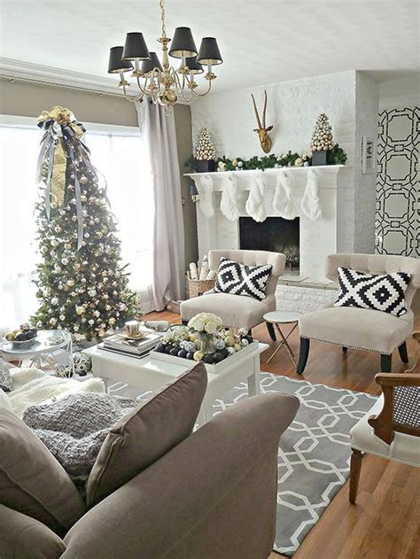 pinteresting christmas living room decoration ideas