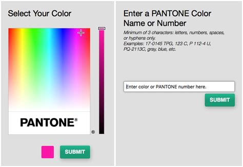 the new pantone color finder fashion trendsetter