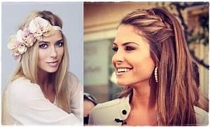 Svečane blagdanske frizure za dugu kosu - žena.hr | Hair ...