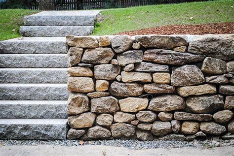 natural stone wall solutions  natural stone retaining walls
