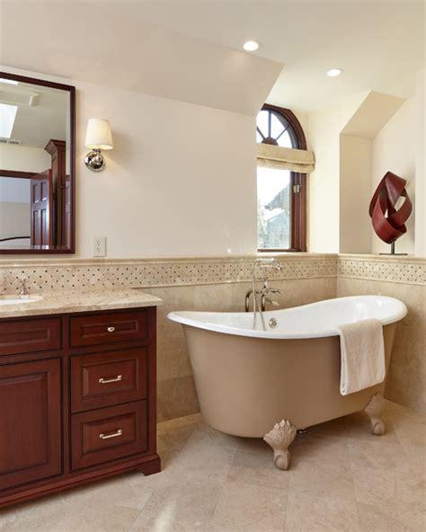 palo alto tubs claw foot tub in new bathroom in palo alto traditional