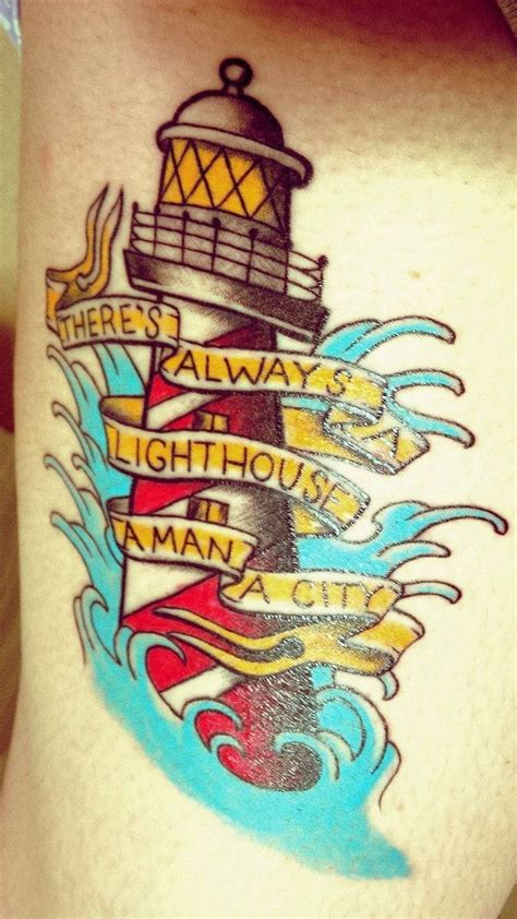 foto de Traditional lighthouse with Bioshock Infinite reference by
