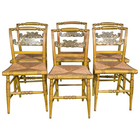 set of six fancy chairs for sale at 1stdibs