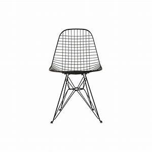 Chaise Design Metal : chaise wire dkr vitra trentotto mobilier design toulouse ~ Teatrodelosmanantiales.com Idées de Décoration