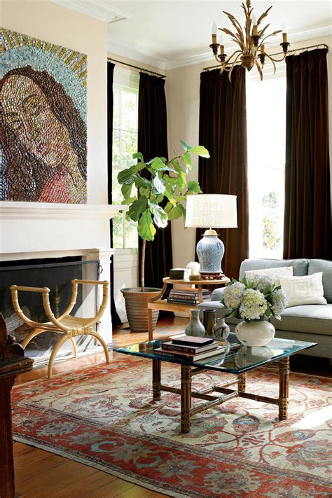 Casual Classic Southern House by 106 Living Room Decorating Ideas Southern Living