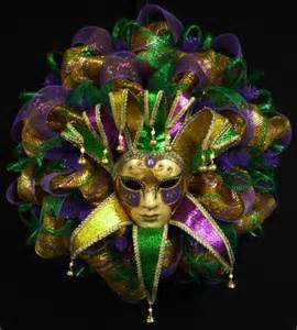 Mardi Gras Mask Decorations
