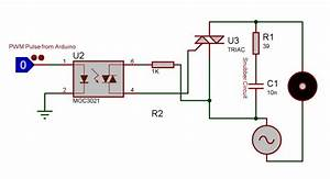 Ac Fan Speed Control Using Arduino And Triac