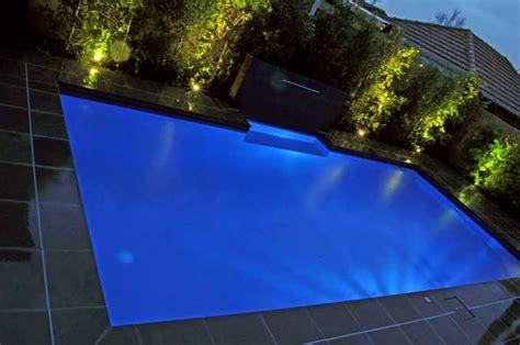 outdoor garden  pool lighting design  ideas