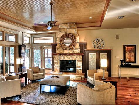 Home Interior Lighting Ideas : Rustic Living Room Interior Lighting Ideas
