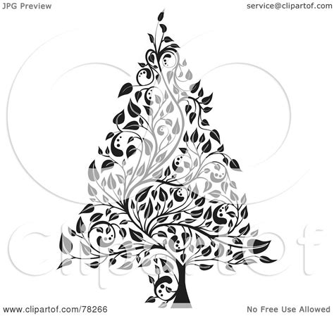 royalty  rf clipart illustration   black