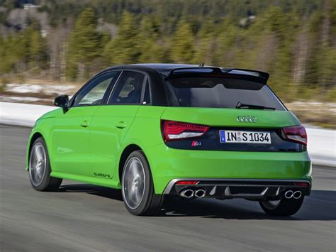 Audi S1 Galore Minty Green Drifting Video And