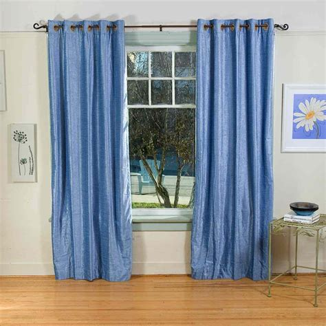 blue curtain panels drapes curtains blue house home