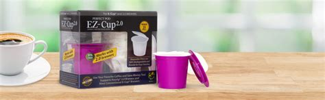 Exclusive to the keurig home brewing system. Perfect Pod K16129 EZ Cup 2.0 Reusable K-Cup Capsule with 50 Filters, Purple: Amazon.ca: Home ...