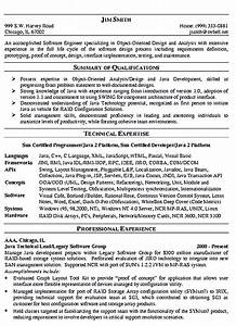 sample qualifications in resume software engineer resume includes many things about your